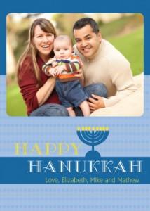 Brigh Hanukkah card