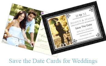 Save the Date Cards - Wedding
