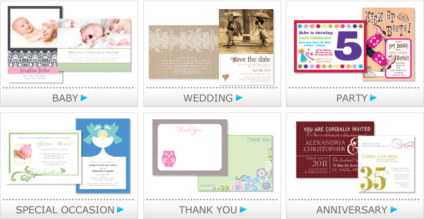 Shop for coordinating Save The Dates, Shower Invitations, Wedding Invitations, Programs, Menus and more