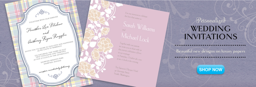 shop wedding invitations
