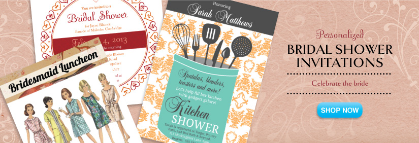 shop shower invitations