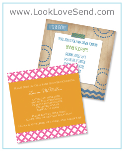 create your own baby shower invitations let looklovesend lend a hand