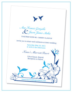 Creating Your Online Invitations
