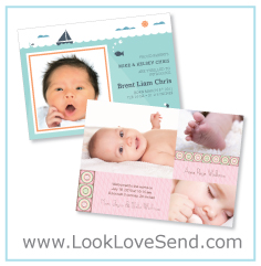 Online Birth Announcements
