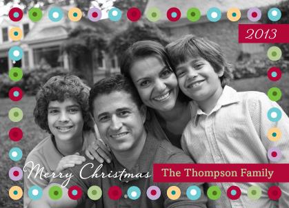 Christmas Cards - Christmas Dots