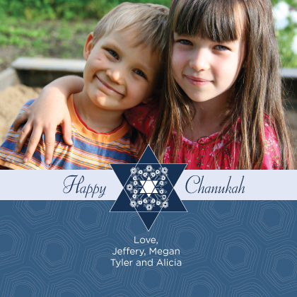 Hanukkah Cards - Chanukah Star