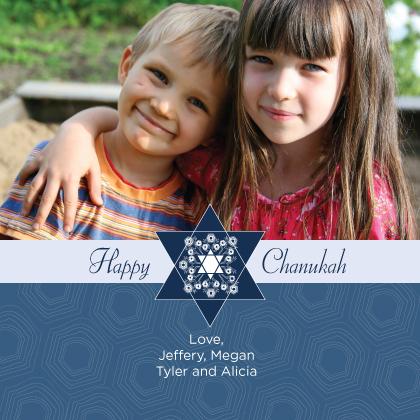 Hanukkah Cards - Chanukah Star