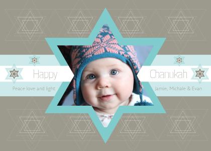Hanukkah Cards - Star of Chanukah