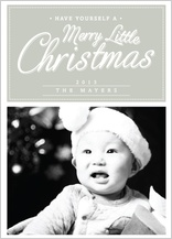 Christmas Cards - merry little christmas