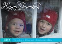 Hanukkah Cards - happy family chanukah