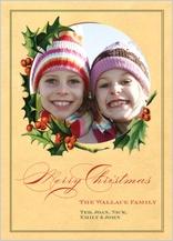 Christmas Cards - holly days