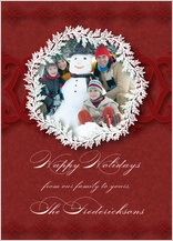 Holiday Cards - holiday ornament