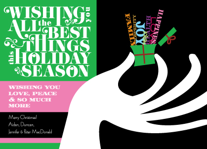 Holiday Cards - The Best Things