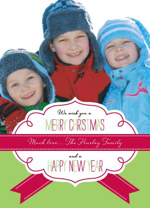 Christmas Cards - Banner Christmas
