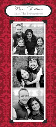 Christmas Cards - Holiday Damask