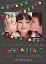 Christmas Cards - string lights