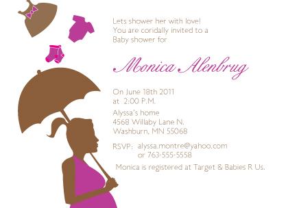 Baby Shower Invitation - Shower Love