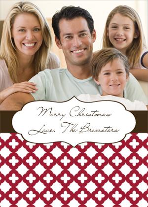 Christmas Cards - Holiday Trellis