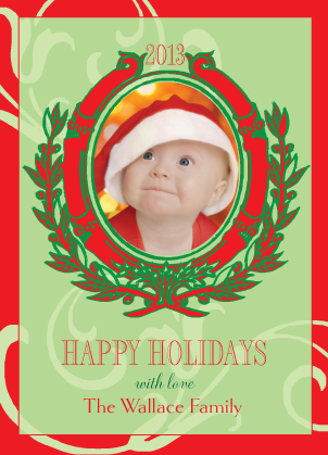 Christmas Cards - Fancy Frame