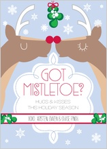 Christmas Cards - got mistletoe