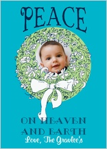 Christmas Cards - peace on heaven and earth