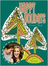 Christmas Cards - christmas tree lights
