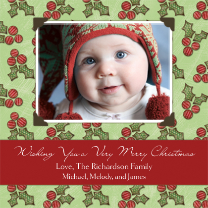 Christmas Cards - Holly Berry