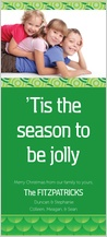 Christmas Cards - season to be jolly