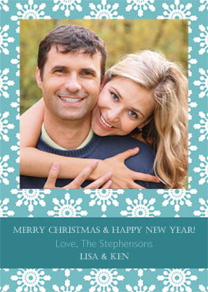 Christmas Cards - Pretty Flakes