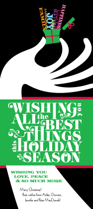Holiday Cards - The Best Things II