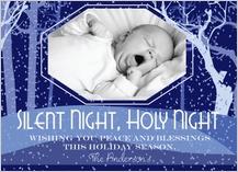 Christmas Cards - silent night christmas card