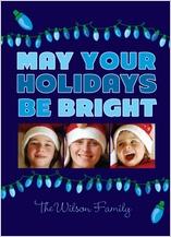 Christmas Cards - blue hue holiday