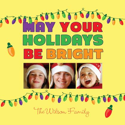 Christmas Cards - Festive Lights