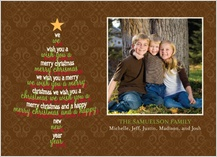 Christmas Cards - wish tree