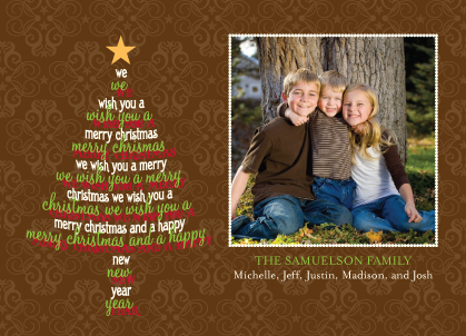 Christmas Cards - Wish Tree