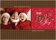 Christmas Cards - vintage joy