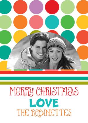 Christmas Cards - Christmas Circles