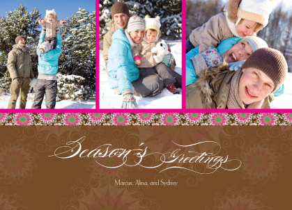 Holiday Cards - Fancy Snowflake