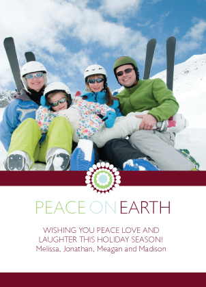 Holiday Cards - Peace On Earth