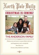 Christmas Cards - holiday news
