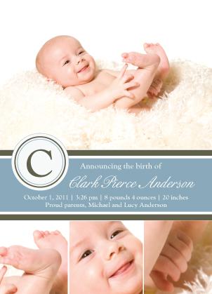 Birth Announcement - Birth Announcement - Classic