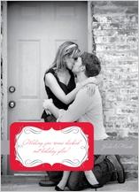 Holiday Cards - holiday kiss