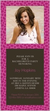 Bachelorette Party Invitation - animal print