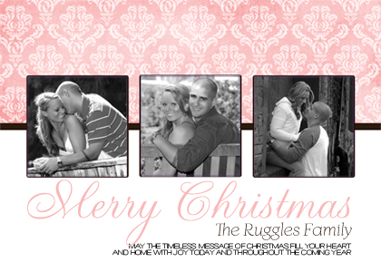 Christmas Cards - Rose
