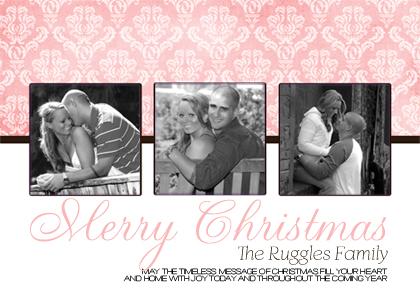 Christmas Cards - Rose
