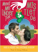 Christmas Cards - mistletoe