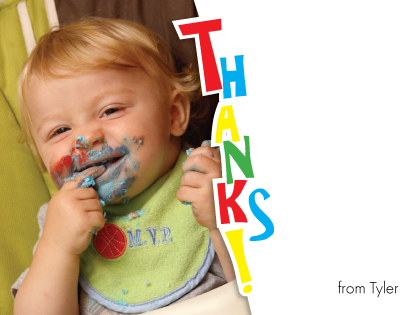 Thank You - Funky Photo Thanks