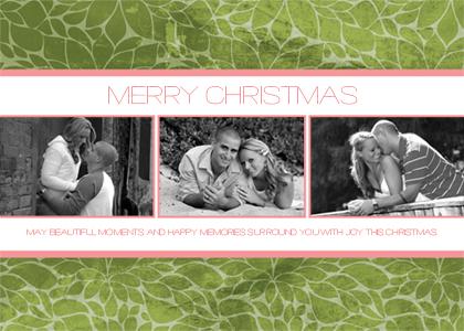 Christmas Cards - Leafy