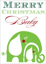 Christmas Cards - merry christmas baby
