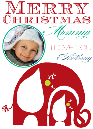 Christmas Cards - Merry Christmas Mommy